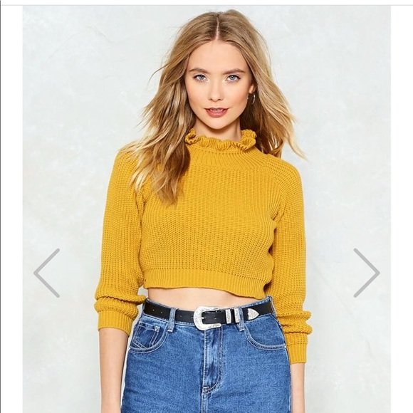 Nasty Gal Sweaters - Nasty Gal Cropped Sweater